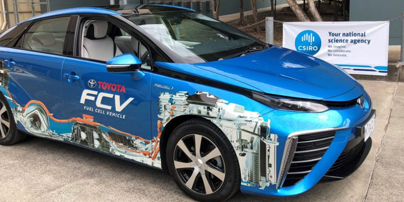 Hydrogen-powered cars on the horizon after an Australian-first trial