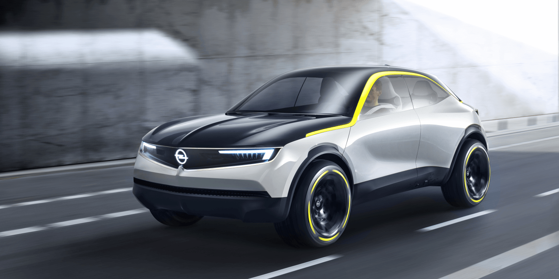 Opel Gt X Experimental E Suv Concept Car