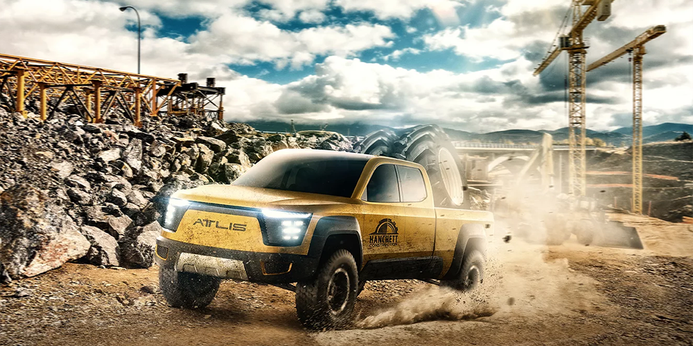 Atlis working on electric pickup truck with 800 km range