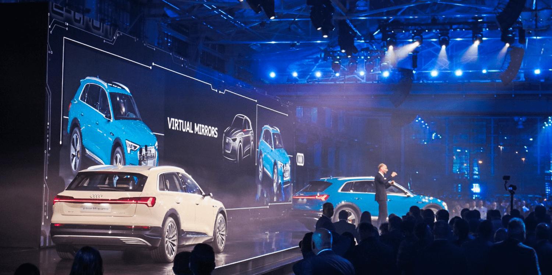 Audi San Francisco >> Audi Presents Their First Electric Car E Tron In California