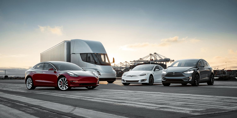 Tesla Family Model 3 Semi S