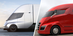 tesla-semi-nikola-one-lkw-collage