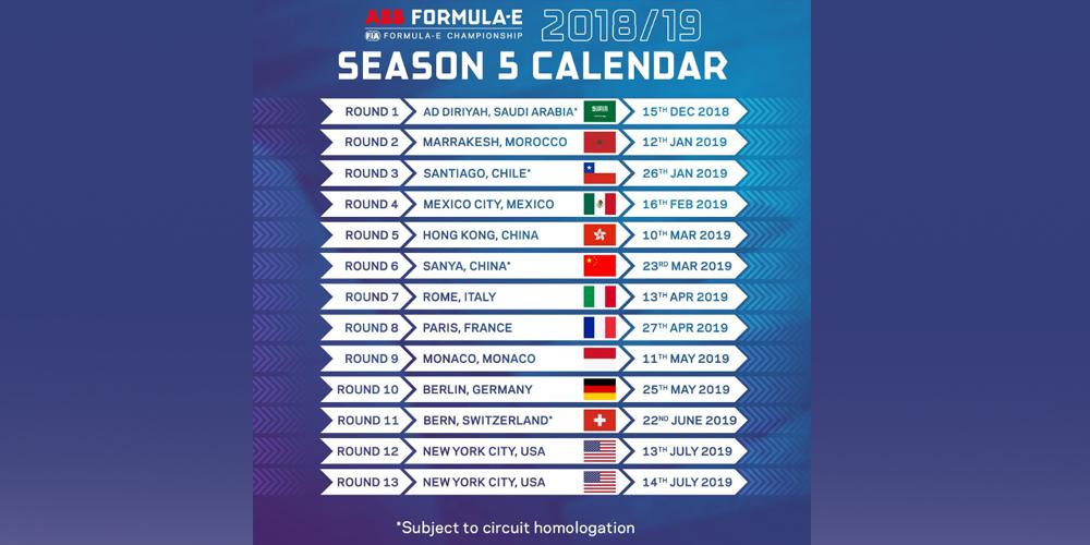 formel-e-formula-e-kalender-season-2018-19