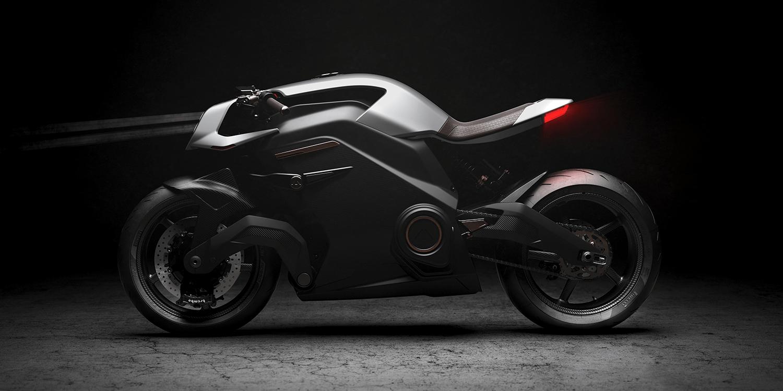 Jaguar-backed Arc debuts hi-tech electric motorbike