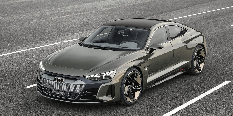Audi e-tron GT concept previews eventual 590-hp Tesla fighter