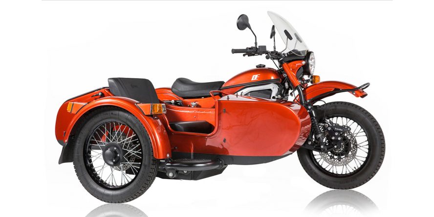 Ural presents first electric motorbike with sidecar