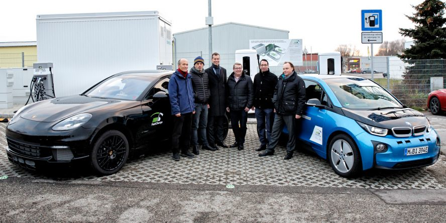 Prototype charging station lets you drive 100km on a three-minute charge