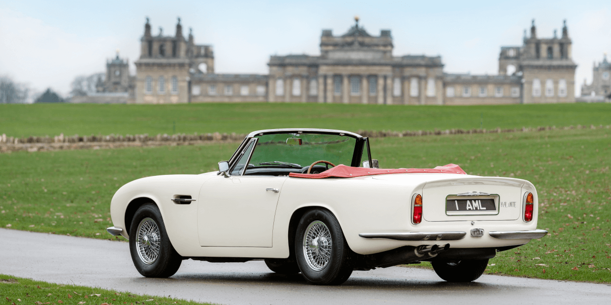 You won't wake the neighbours with this electric Aston Martin DB6