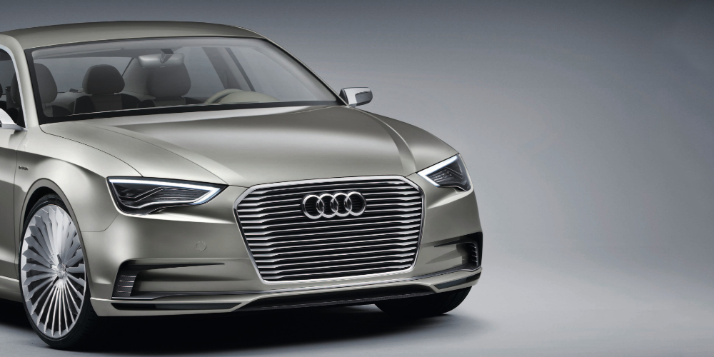 Audi A3 E Tron Concept 2017 Symbolbild