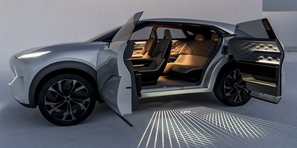 Nissan S Luxury Brand Will 100 Electric And Hybrid Cars Starting In 2025 Rather Than Going It Halfway Infiniti Is Previewing Said Future