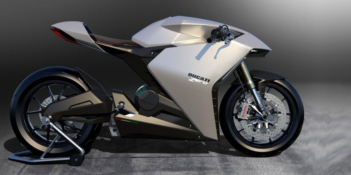 Ducati Zero Concept Electric Motorcycle