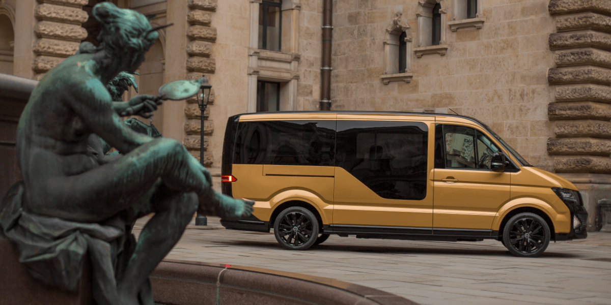 Ride sharing with VW e-Crafter: MOIA starts in Hamburg