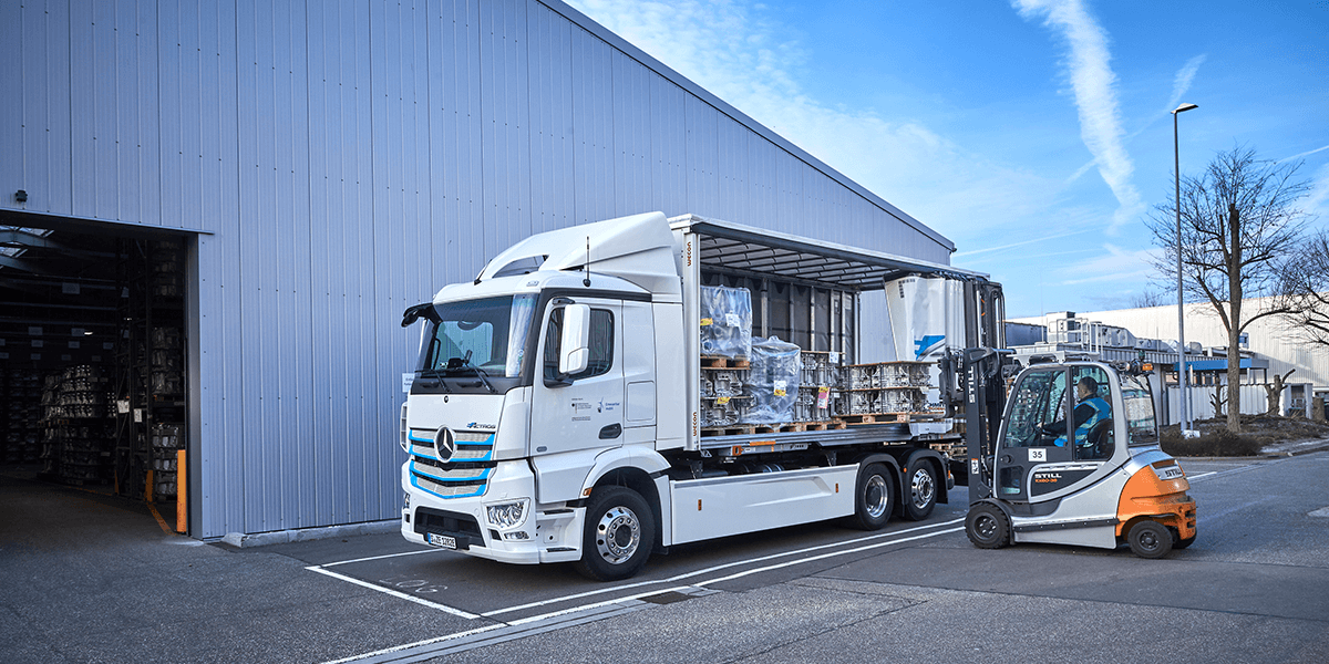 Daimler on 3-year test for eActros electric truck