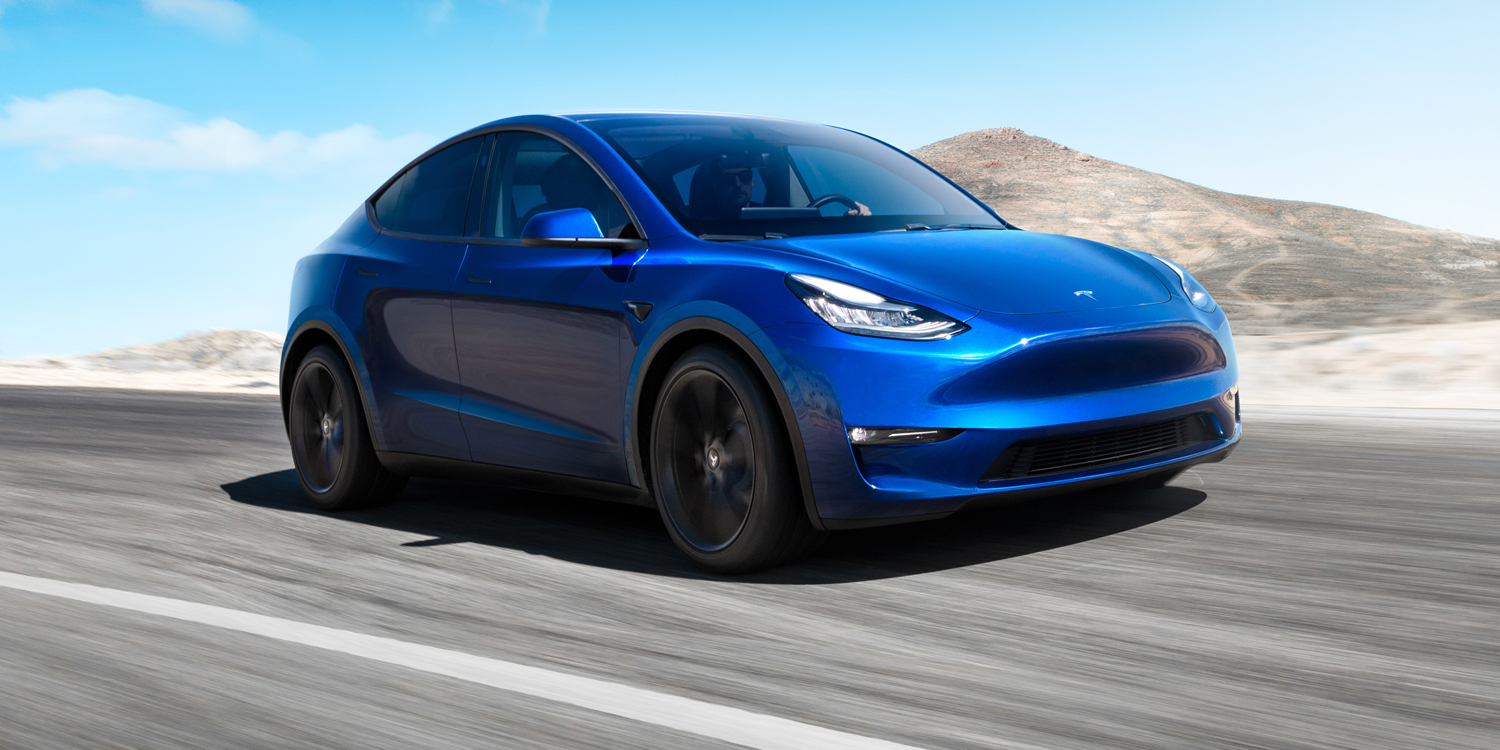 Tesla unveils its Model Y SUV