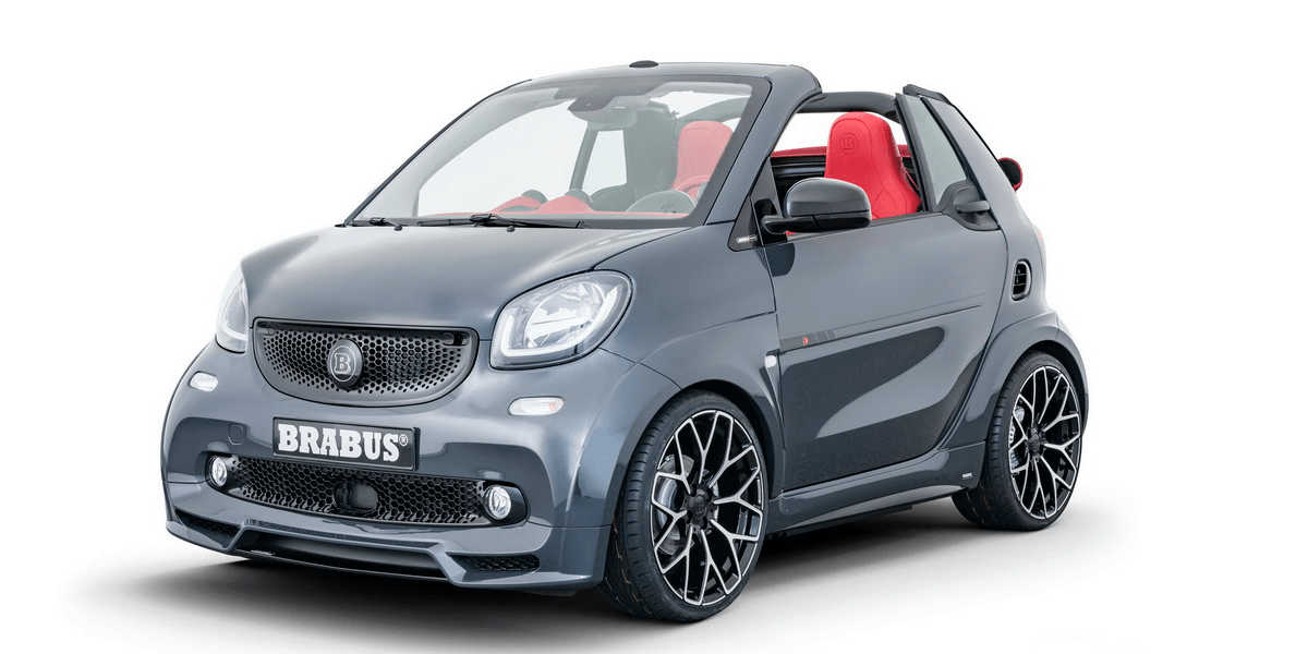 brabus presents tuned smart eq fortwo cabrio. Black Bedroom Furniture Sets. Home Design Ideas