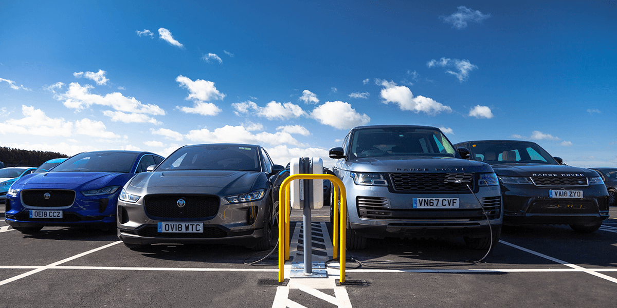 JLR installs 166 NewMotion charging points - electrive.com
