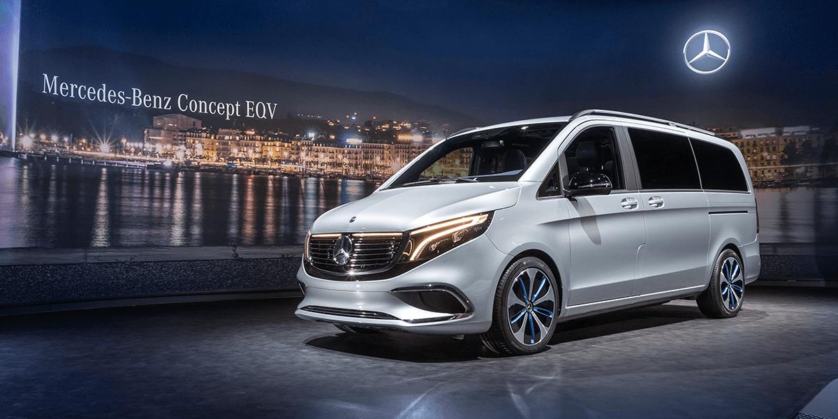 Mercedes EQV concept - serial production launches 2019 ...