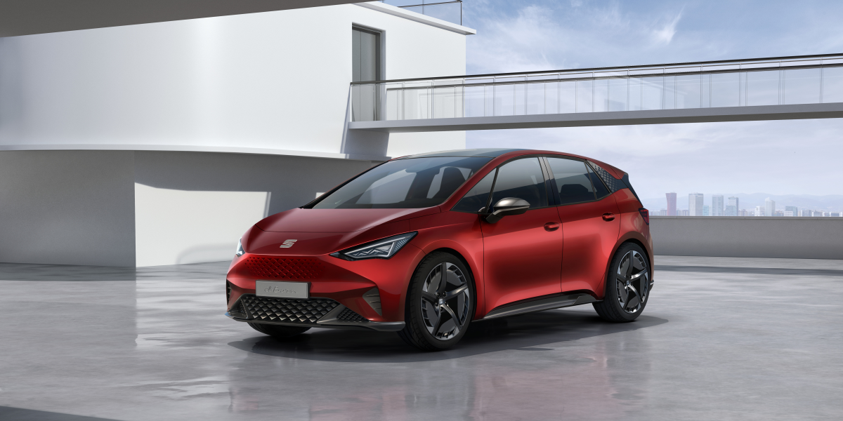Seat el-Born EV has 260-mile range