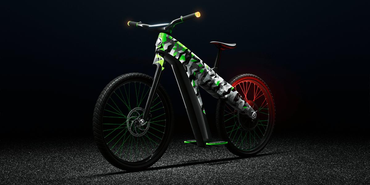 Skoda Presents Electric Speed Bike Concept Klement