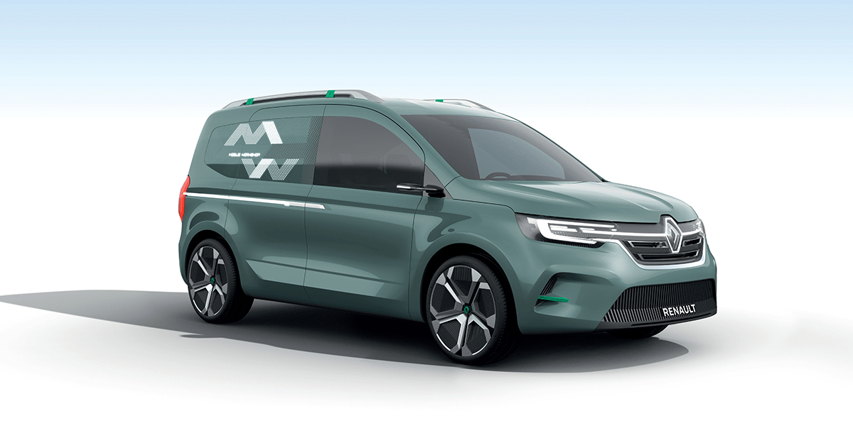 Renault S New Looks For Electric Transporter Vans