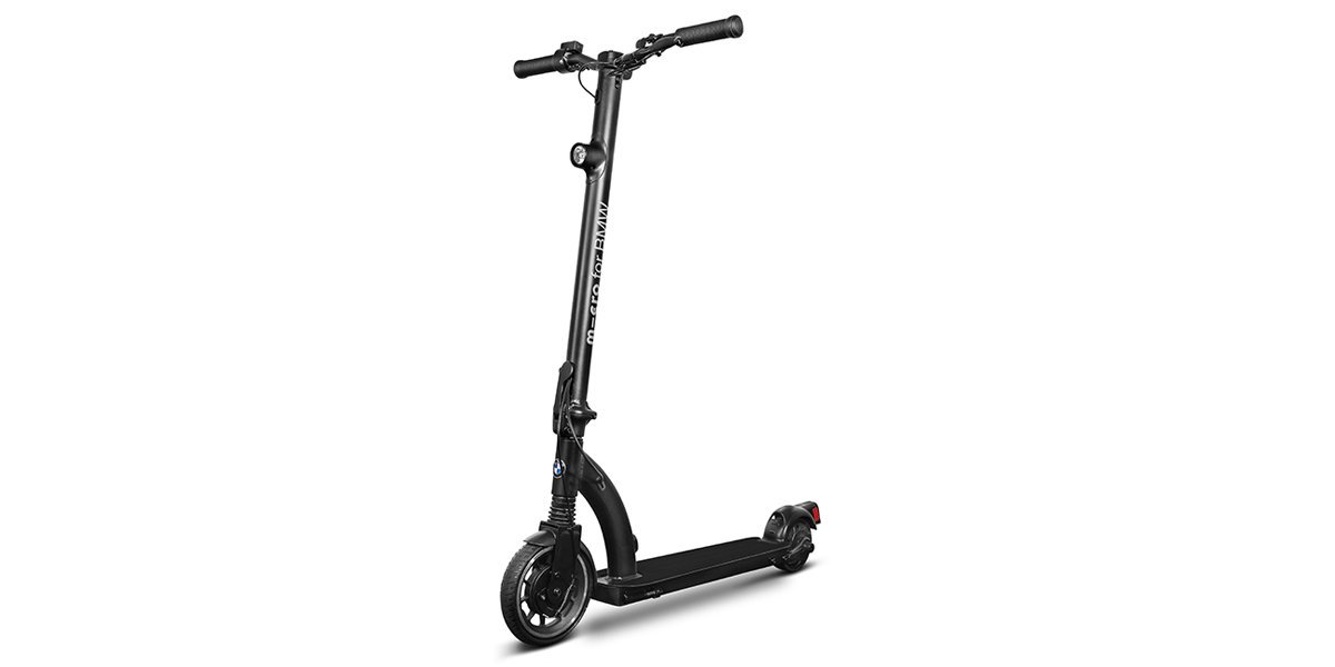 bmw has plans for collapsible electric kick scooter. Black Bedroom Furniture Sets. Home Design Ideas