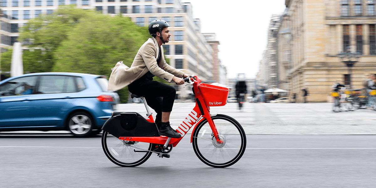 Uber launches JUMP pedelecs in Berlin - electrive com