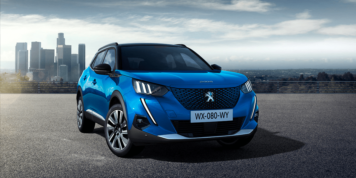 Peugeot Introduces The E 2008 Compact Electric Suv Electrive Com