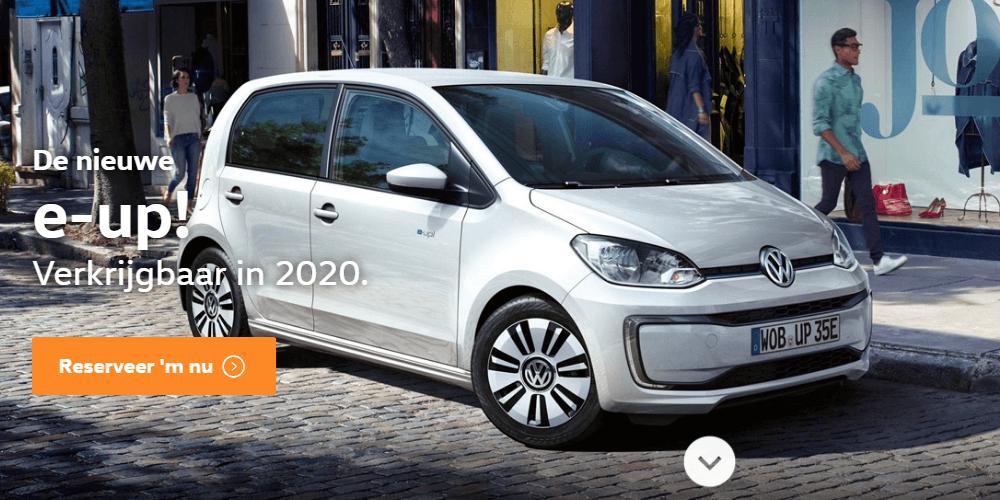 nieuwe volkswagen up 2020