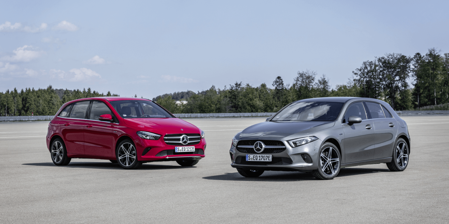 Cars That Start With B >> Mercedes Introduces A And B Class Plug In Hybrids Electrive Com