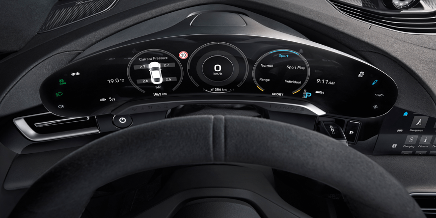 Porsche Taycan Interior Revealed Electrive Com