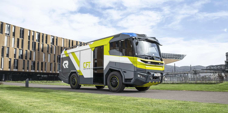 Rosenbauer takes concept fire truck to Australia - electrive com