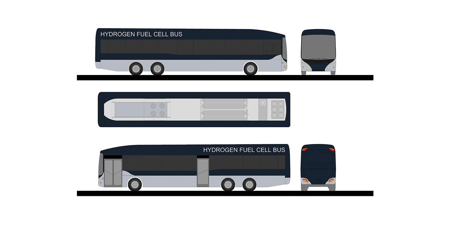 Fuel cell and battery-electric buses for Auckland