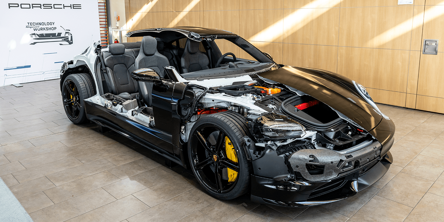 Porsche Taycan Finally Revealed Electrive Com