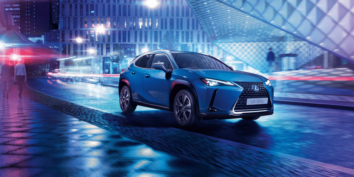 Lexus UX 300e is the brand's first electric vehicle