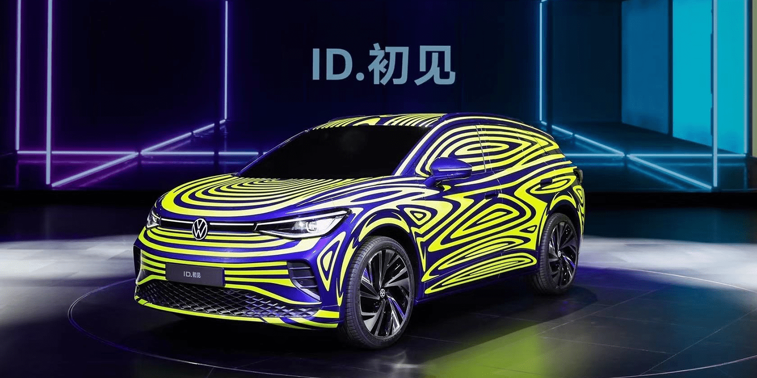 VW brand releases electric vehicle roadmap for China