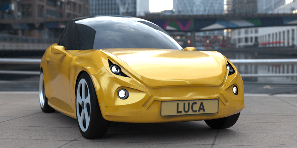 Eindhoven introduces the recycled car Luca - electrive.com