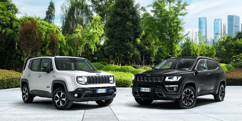 Jeep Reveals Phev Renegade And Compass Spec Electrive Com