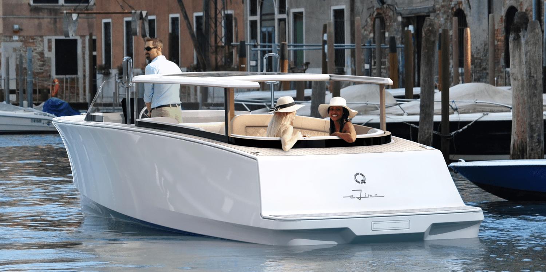 Electric Boat Christmas Break 2020 Q Yachts presents electric commercial passenger boat   electrive.com
