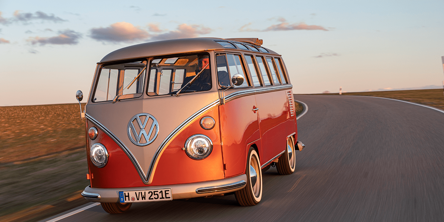 The VW e-Bulli is all kinds of awesome