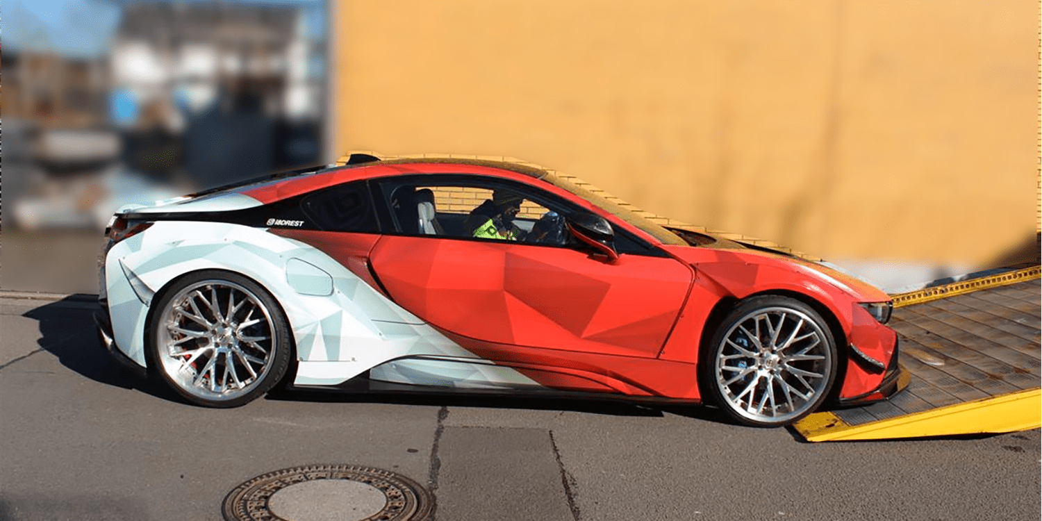 Illegally Tuned Bmw I8 Can T Outrun The Internet Electrive Com