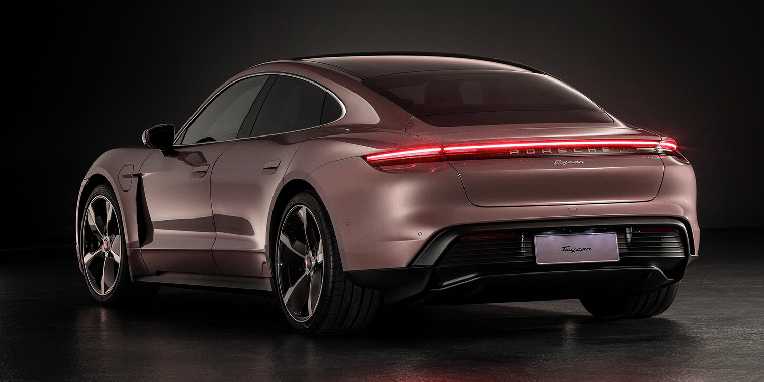 Porsche Releases The Rwd Taycan Electrive Com
