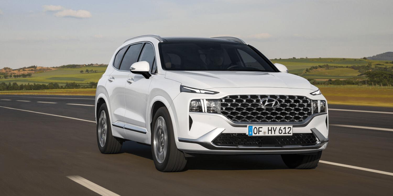2021 Hyundai Santa Fe Spesification