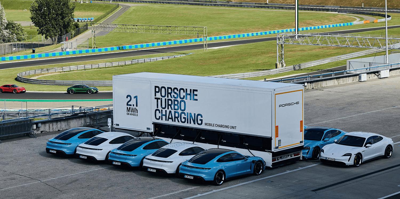 High Power Charging Trucks Prove Reliable Porsche Finds Electrive Com