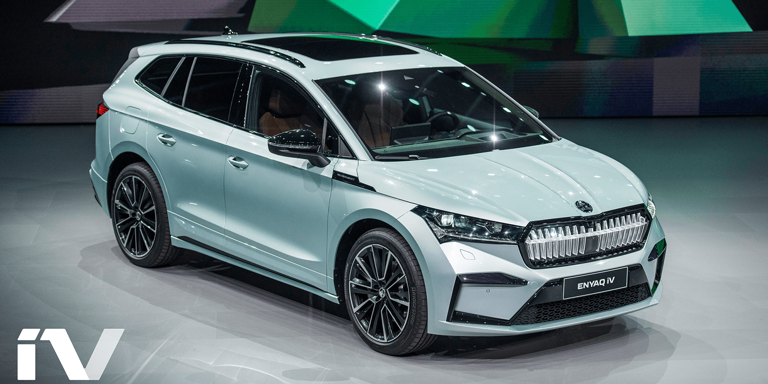 Škoda Enyaq iV: First MEB-SUV comes from the Czech Republic - electrive.com
