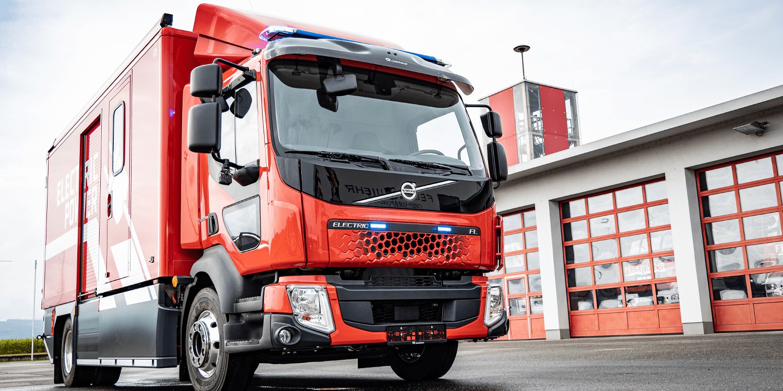 Rosenbauer Volvo Release All Electric Fire Truck Electrive Com