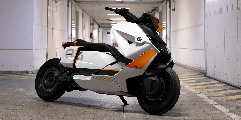 Bmw Reveals Near Series E Scooter Model Ce 04 Electrive Com